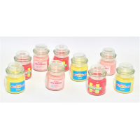LICENSED JAR CANDLES ASSTD