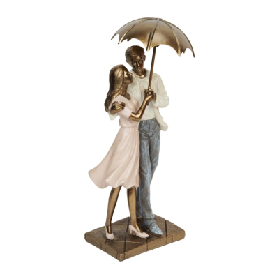 RESIN COUPLE STANDING 24.5CM