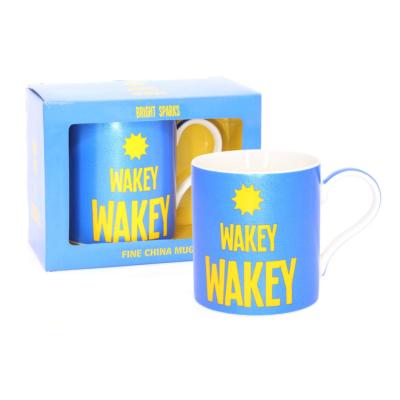 WAKEY WAKEY MUG BOXED