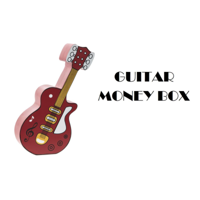 GUITAR MONEY BOX