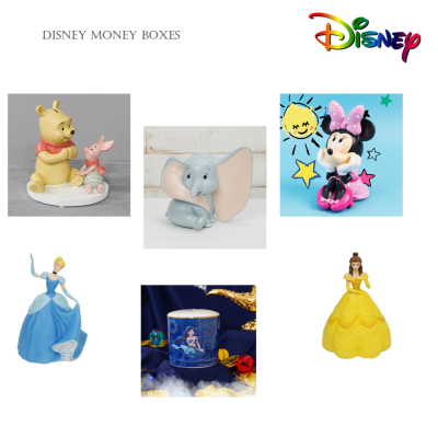 DISNEY MONEY BOXES ASSORTED