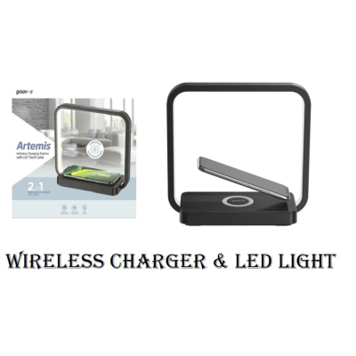 LED TOUCH LAMP / WIRELESS CHARGING PAD