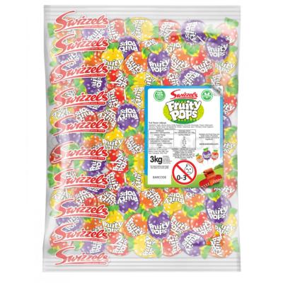 FRUITY POPS LOLLIPOPS 3KG