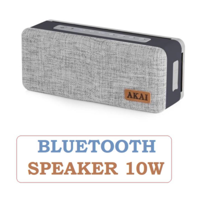 FABRIC BLUETOOTH SPEAKER 10W