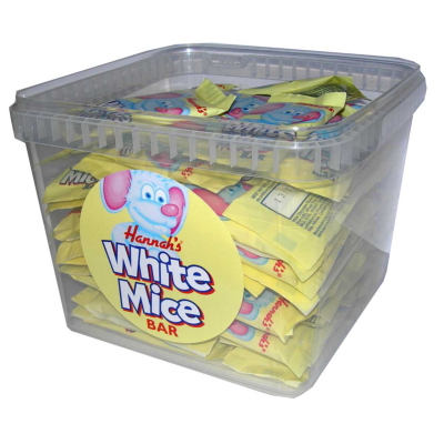 SWEETS WHITE MICE (80)