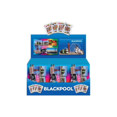 BLACKPOOL PLAYING CARDS
