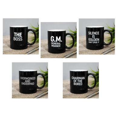 HUMOROUS MUGS ASSORTED