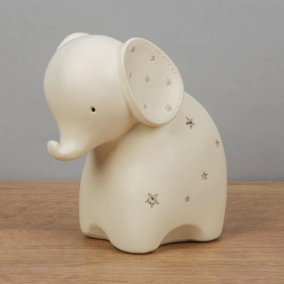 RESIN ELEPHANT MONEY BANK