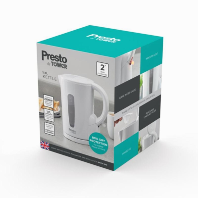 TOWER KETTLE 1.7 LTR