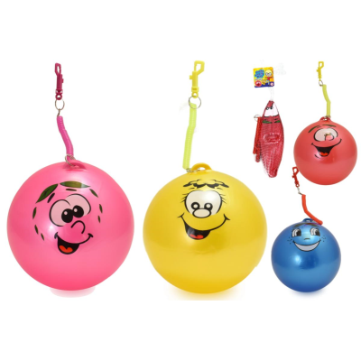FRUITY SMELLY BALL WITH KEYRING - 4 ASSTD