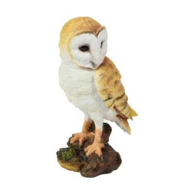 RESIN OWL FIGURINE