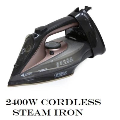 ROSE GOLD CORDLESS STEAM IRON 2400W