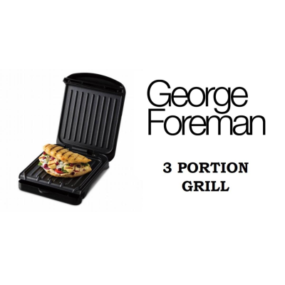 GEORGE FOREMAN 3 PORTION GRILL