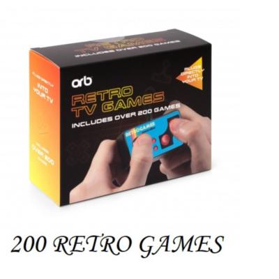PLUG & PLAY RETRO GAME CONSOLE 200 IN 1