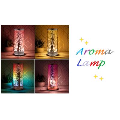 AROMA LAMP ASSTD COLOURS 26cm