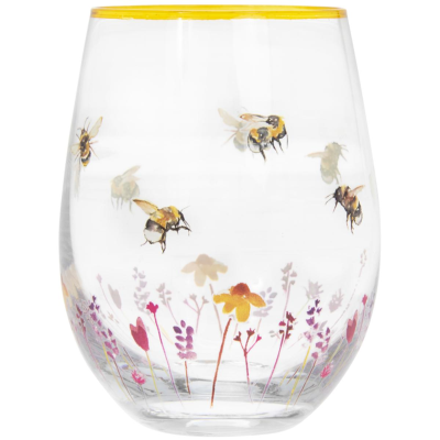 BUSY BEES TUMBLER GLASS