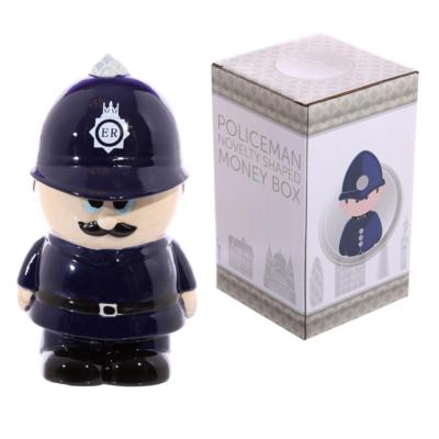 POLICEMAN CERAMIC MONEY BOX