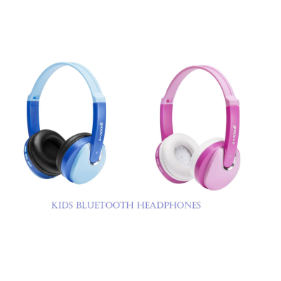 KIDS BLUETOOTH HEADPHONE BLUE/PINK