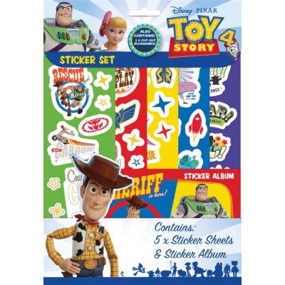 TOY STORY 4 STICKER SET