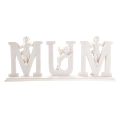 ANGELS WITH MUM PLAQUE (24) *