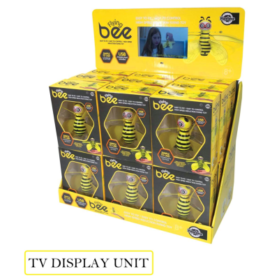 FLYING BEE TV DISPLAY WITH 5pcs FOC STOCK