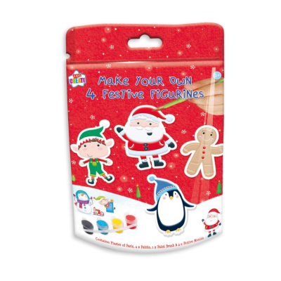 XMAS PAINT YOUR OWN FIGURINES