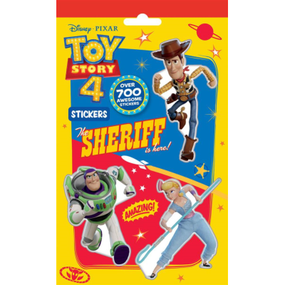 TOY STORY 4 STICKERS 700PC