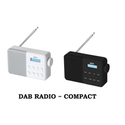 DIGITAL DAB RADIO COMPACT