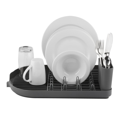 TOWER DISHRACK AND CUTLERY HOLDER