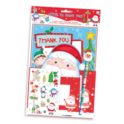 XMAS LETTER TO SANTA WITH PENCIL