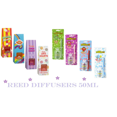 REED DIFFUSERS SWIZZELS / MILLIONS 50ml