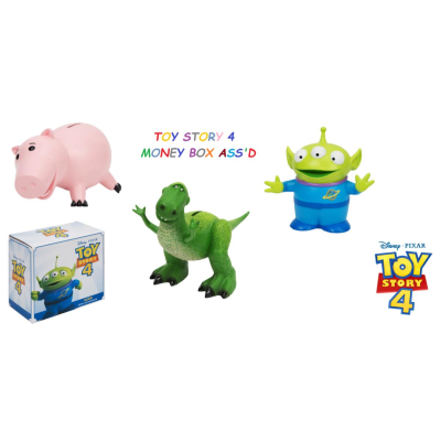 TOY STORY 4 RESIN MONEY BOX ASSD