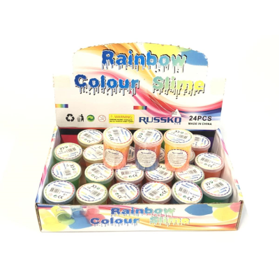 RAINBOW TWIN COLOUR SLIME