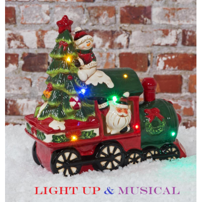 LIGHT UP LED MUSICAL TRAIN