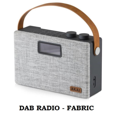 FABRIC BLUETOOTH DAB RADIO