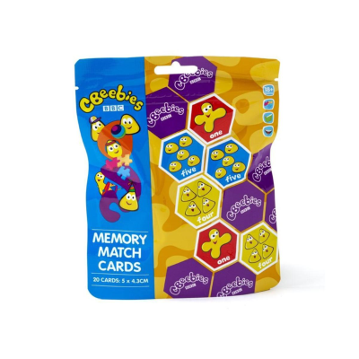 CBEEBIES MEMORY MATCH PUZZLE IN BAG