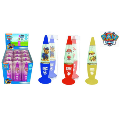 PAW PATROL LED GLITTER LAMP *