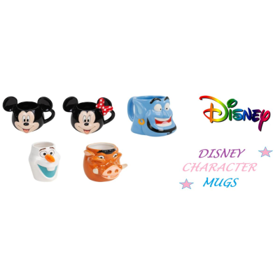 LICENSED DISNEY MUGS BOXED