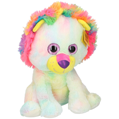 PLUSH LION 43cm MULTICOLOUR