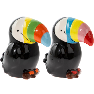 TOUCAN MONEY BOX SMALL 2 ASSTD