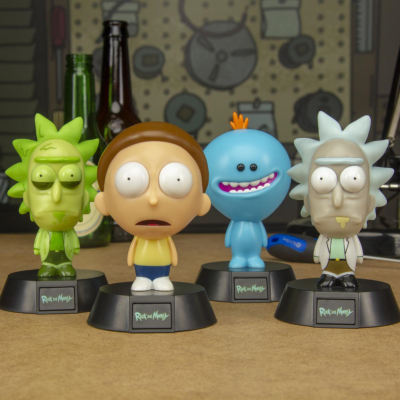 RICK AND MORTY 3D CHARACTER LIGHT MIX*
