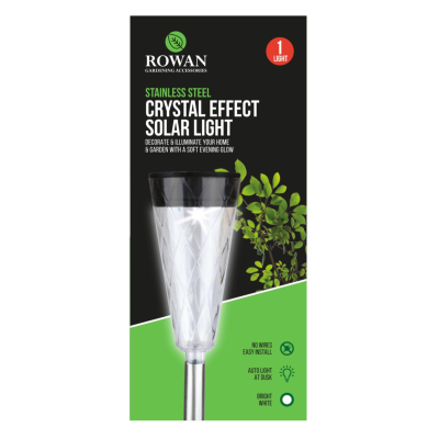 CRYSTAL EFFECT SOLAR LIGHT