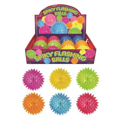 SPIKEY BALL WITH LIGHT 6.5cm