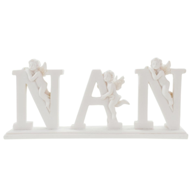 ANGELS WITH NAN PLAQUE (24) *