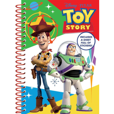 TOY STORY A5 NOTEBOOK & STICKERS