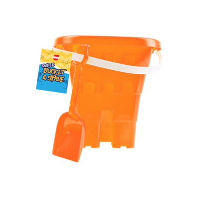SQUARE CASTLE BUCKET AND SPADE SET