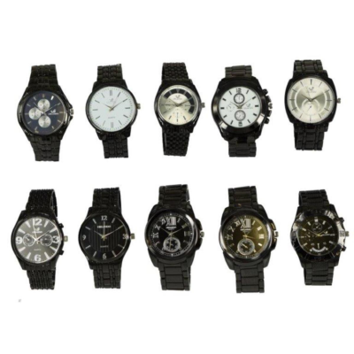 GENTS METAL BAND WATCH ASSORTED