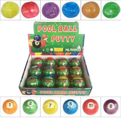 POOL BALL PUTTY