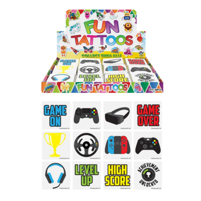 TATTOO'S MINI GAMER 12 ASSTD 8640pcs *